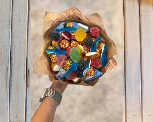 Съедобные букеты для женщин из продуктов –  Магазин Икон | Фотография 3