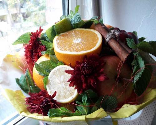 Букеты из фруктов –  Магазин Икон | Фотография 5