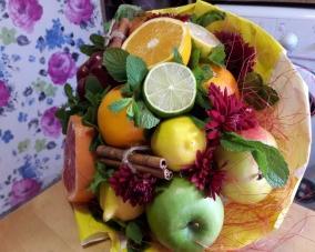 Букеты из фруктов –  Магазин Икон | Фотография 1