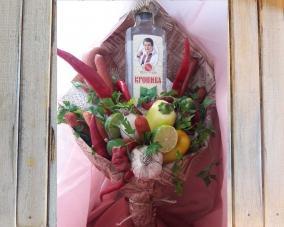 Букет для мужчины из продуктов –  Магазин Икон | Фотография 3