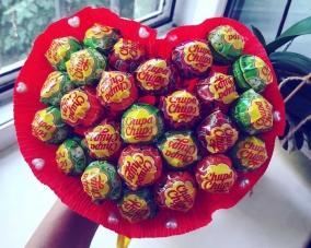 Букет из конфет и сладостей –  Магазин Икон | Фотография 2