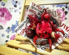 Букет из конфет и сладостей –  Магазин Икон | Фотография 3