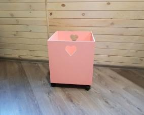 Ящик для игрушек на колесах –  Магазин Икон | Фотография 2