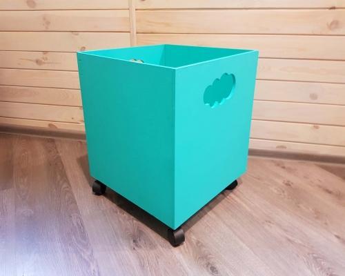 Ящик для игрушек на колесах –  Магазин Икон | Фотография 3